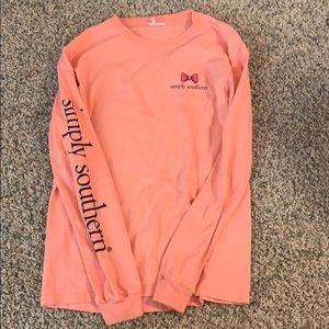 Simply Southern Pink long sleeve